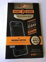 Gadget Guard FILM Screen Protector for Motorola Moto Z Droid, Original E... - $11.70