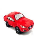 Car Dog Toy Subaru Plush Squeaker Impreza Embroidered Logo Pet Plush Red - $14.84