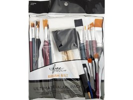 Fine Touch Brush Set-All Purpose Value Pack-25 Pieces #1734938