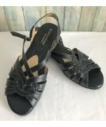 Naturalizer N5 Comfort Women's Brown Leather Huarache Sandals Sz 7.5 - $23.36
