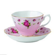 Royal Albert New Country Roses Formal Vintage Boxed Teacup Saucer (S), P... - $46.74