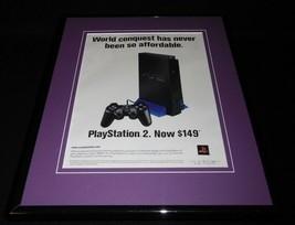 2004 Playstation 2 System PS2 Framed 11x14 ORIGINAL Vintage Advertisement - $34.64