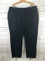 Charter Club Pant Shop Slimming Black Stretch Dress Pants Size 22WP Career - $9.10