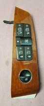 2003 Mercedes S-Class OEM Driver Side Master Power Window Lock Switch Wood Grain - $26.19