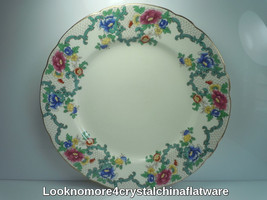 Royal Cauldon Victoria Luncheon Plate - $9.25