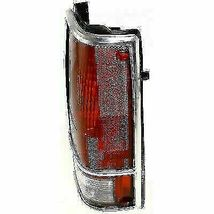 RIGHT SIDE TAIL LIGHT GM2801105 FOR 82-93 CHEVY GMC PICKUP (W/CHROME TRIM) image 4