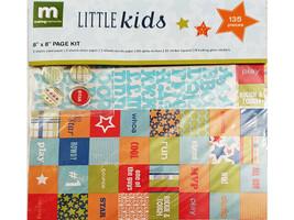 """Making Memories Little Kids 8""""x8"""" Page Kit, Scrapbooking & Card Making"""
