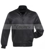 Letterman Baseball College Varsity Bomber Super Jacket Sports Wear Black... - $49.98+