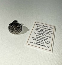 Ganz Pocket Token Lucky Little Owl Wish Box Charm Gift New w/ Story Card - $9.70