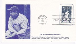 BABE RUTH #2046 CHICAGO, IL JULY 6, 1983 NAMAKE CACHET D-865 - ₹228.14 INR