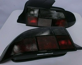 Tail Lights BMW Z3 Smoked Tinted Clear Euro Rear Black Roadster Pre-face... - $196.91