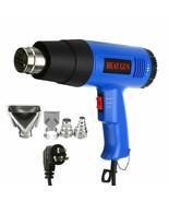 Air Heat Gun 1800W Soldering Hair Dryer Building Hot Air Nozzle Hair Dry... - $47.87