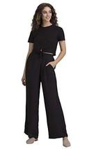 Benares Wide Leg Pants for Women - Comfortable Bottom Wear, Black (XL)