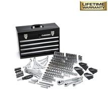 Mechanics Tool Set with Steel Storage Chest 250 Piece Repair Accessories... - $238.92