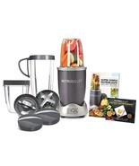 NutriBullet NBR-1201 12-Piece High-Speed Blender / Mixer System Gray 600... - $1.685,19 MXN