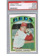 1972 Topps #136 Darrel Chaney Reds  PSA 9OC MINT - $22.72
