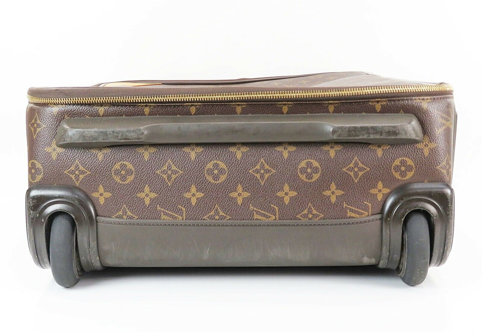 Authentic LOUIS VUITTON Pegase 50 Monogram Canvas Travel Rolling Suitcase #32858