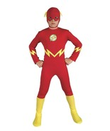 Kids The Flash Costume Cosplay Dress Up Large - $17.81