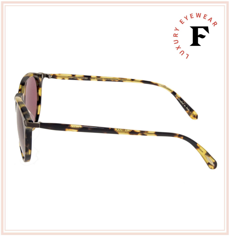 Oliver Peoples BERLUTI Rue Marbeuf Sunglasses OV5353SQ Havana Pink Photochromic