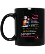 Sally and Son To My Son BM11OZ 11 oz. Black Mug - $17.50
