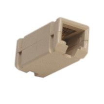 Suttle 159MC-4 Inline Coupler 6-Position 4-Conductor Reverse Wiring Ivory - $18.76