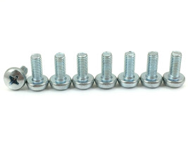 8 New Insignia TV Base Stand Screws for Model  NS-50D550NA15 (For Plastic Stand) - $6.13