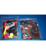 Multi-colored Magnetic and coated plastic chips  science + free magnetic... - $5.94