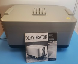 L'Equip 528 Food Dehydrator 6 Tray - Good Condition! Nice! Works Great! - $84.15