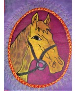 """The Pony"" Textile art  - $27.00"