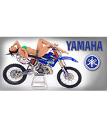 Yamaha Motorcycle Motocross Racing Garage Banner - Dirtbike Chic #11 - $34.64