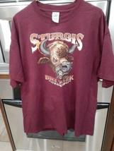 2XL 2008 Sturgis Bike Week T-Shirt Biker Buffalo Delta Magnum-Weight - $14.95