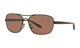Oakley Sanctuary POLARIZED Sunglasses OO4116-06 Satin Black W/ OO Grey Lens - $55.83