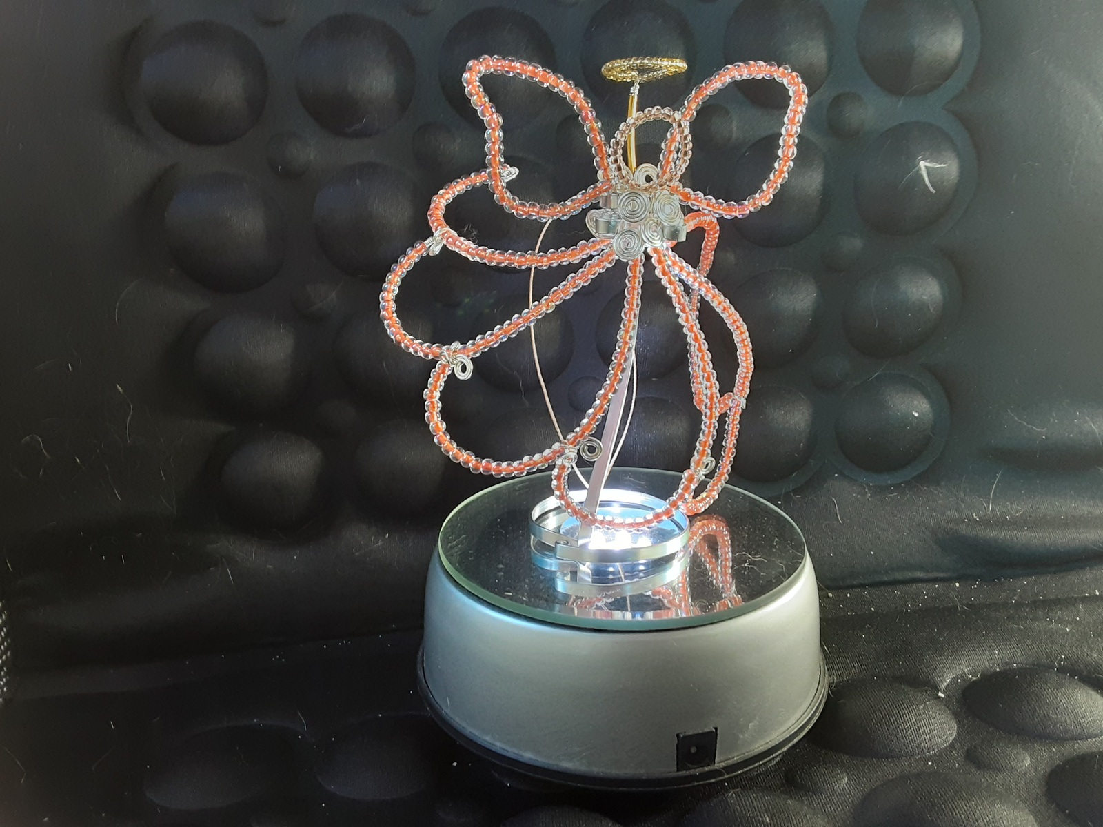 Angel Sun-catcher Ornament (hand-crafted, one-of-a-kind) image 5