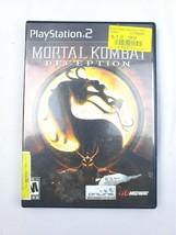 Mortal Kombat Deception 2004 Playstation 2 Game and Manual - $14.84