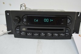 2004-2008 CHRYSLER PACIFICA CD PLAYER RADIO AM FM P05082764AD TESTED H54... - $47.51
