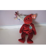 Ty Beanie Baby Birthday July Celebration Bear - $5.99