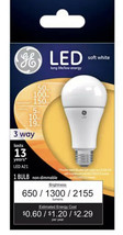 GE LED Dimmable Bulb 100 Watt Replacement 15 Watt Soft White NEW - $9.89