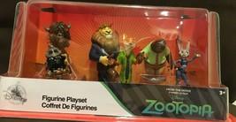 Disney Store Zootopia Figurine Play Set New - $23.96