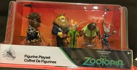 Disney Store Zootopia Figurine Play Set New Halloween Sale - $25.24