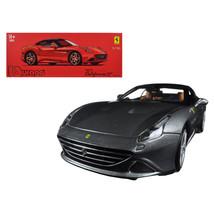Ferrari California T Closed Top Metallic Grey Signature Series 1/18 Diec... - $72.82
