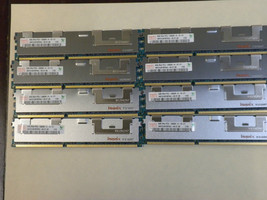 64GB (8X8GB) Memory DDR3 PC3-10600 Ecc Reg Comp To Dell SNPX3R5MC/8G A3078601 - $502.92