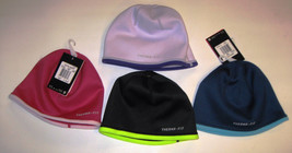 New Nike Reversible Therma-Fit Beanie 577041 Cap Running Youth Unisex - $7.00