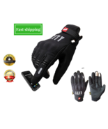 Motorcycle Gloves For Men Touch Screen Electric Bike Glove - $16.95