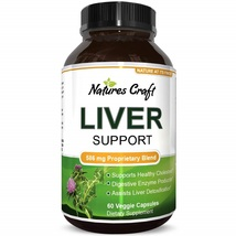 Natures Craft's Natural Liver Support Promote Liver Health & Weight Loss 60 Caps - $91.59