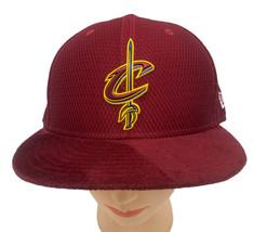 Era 9Fifty Cleveland Cavaliers on Court Snapback Hat Burgundy WAYNE  - $21.76
