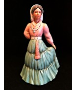 HOMCO Figurine 1439 Lady from Spain Porcelain Home Interiors & Gifts 8 i... - $24.74