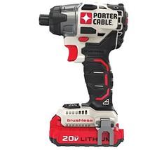 PORTER-CABLE 20V MAX Cordless Drill Combo Kit, Brushless, 2-Tool (PCCK61... - $147.99