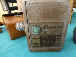 Vintage Revere model 80 Revere Eight working with case & extra lenses - $19.86