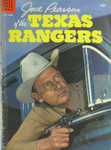 Jace Pearson of the Texas Rangers #9 Dell Comic Golden Age 1955 Western FN- - $15.59