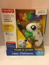 Fisher Price Smart Scan Color Chameleon Think Learn 3-6 Preschool New - $18.69